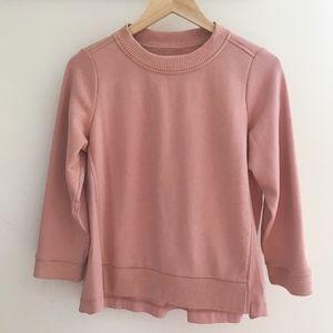 Lou & Grey Back Pleat Sweatshirt